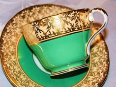 Aynsley Tea Cup and Saucer