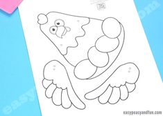 Movable Chicken Paper Doll - Easy Peasy and Fun