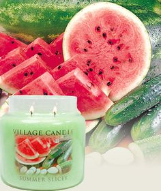 Burning this right now in hopes of warm weather! #Summer Slices-Premium Round - Watermelon, cantaloupe and crisp cucumber