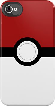 Pokeball iPhone case!    (#iPhone, #iPhonecase, #iPhonecover via cupidtino.com team)