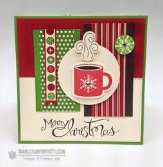 Stampin up mojo monday holiday card ideas sassy salutations punch catalog stampinup framelit