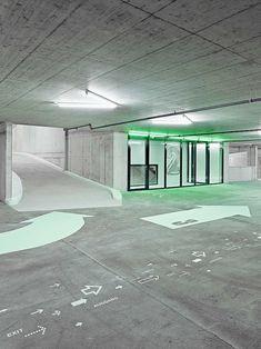 Parking Obere Schüsspromenade Biel/Bienne