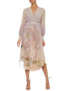 Vestido Philipa - Cris Barros - Bege   - Shop2gether