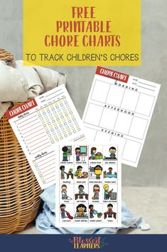 Here is a set of FREE Printable Chore Charts for both parents and children to track the personal habits growth, weekly, and daily chores Free Printable Chore Charts, Chore Chart Kids, Free Printables, Printable Crafts, Cleaning Toys, Cleaning Routines, Cleaning Checklist, How To Clean Mirrors, Easy Arts And Crafts