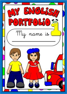 My English Portfolio 1 - Cover