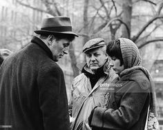 #Sixties | Robert Mitchum, director Robert Wise and Shirley MacLaine during filming of Two For the Seesaw, 1962