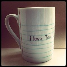 I love tea. ya. basically.