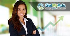 GetMyAds - The leading payback network Seo Marketing, Internet Marketing, Online Marketing, Free Youtube, You Youtube, Make Money From Home, How To Make Money, Learning Italian, Business Entrepreneur