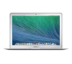 "APPLE MacBook Air 13.3"" £849.00  Intel® Core™ i5 processor OS X Mavericks Memory: 4 GB Hard drive: 128 GB SSD"
