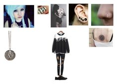 Untitled #133 by yousavedmexoxo on Polyvore featuring Joe's Jeans, Converse and Helix