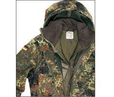 BW Parka, flecktarn, gebraucht / mehr Infos auf: www.Guntia-Militaria-Shop.de