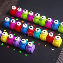 Mini Scrapbook Punches Handmade Cutter Card Craft Calico Printing DIY Flower Paper Craft Punch Hole Puncher Shape(China)
