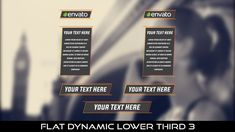 Buy Flat Dynamic Lower Third 3 by MondayMotion on VideoHive. Lower Thirds, After Effects Projects, 10 Seconds, Love You, My Love, Caption, Presentation, Flat, Elegant