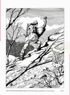 Tuppenny Conan Plate 5 by Barry Windsor Smith