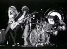 page and plant. led zeppelin. gods