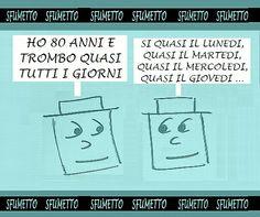 www.sfumetto.net  -  le barzellette bastarde. #felicitá #ridere #barzellette