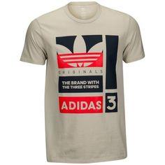 adidas Originals Graphic T-Shirt - Men's at Eastbay Addidas Shirts, Nike Polo Shirts, 3d T Shirts, Cool Shirts, Adidas Originals Tshirts, Design T Shirt, Shirt Designs, T Shirt Printer, Adidas Three Stripes