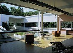 Le Corbusier's Villa Savoye.