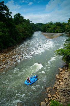 Costa Rica: white water rafting