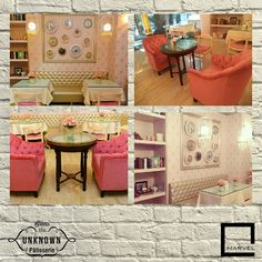 Almost like a getaway to Paris, this café will take you back in time because of its vintage interiors and old worldly charm. The subtle pink wallpapers and small cute chairs take you to a fairyland, managing to become an instant favourite specially among the girls, making it a perfect place for evening desserts. Located nearby is Marvel Escaso, which itself offers premier selection of apartments & penthouses, making you feel royal & vintage. #Guesstheplace #Interiordesign