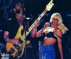 """blackros78: """"Lemmy and Wendy O. Williams """""""