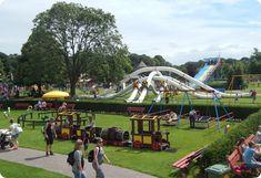Linnaeushof największy plac zabaw w Holandii Park, Parks