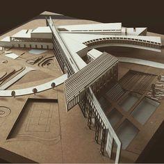 建築系必看的300個超細緻建築模型三之一 | Foot Work︱ 走思客設計圖誌