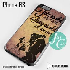 Beauty And The Beast Quotes Phone case for iPhone 6/6S/6 Plus/6S plus