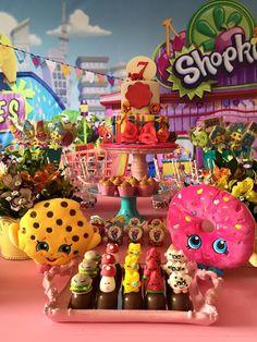 Encontrando Ideias: Festa Shopkins!!