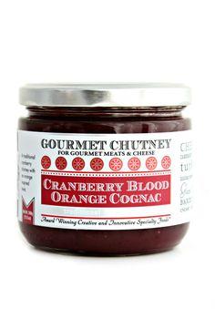 Gourmet Chutney   Cranberry Orange Chutney   Gourmet Food Online