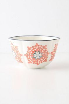 Love the handmade look of this Do Sul Bowl #anthropologie