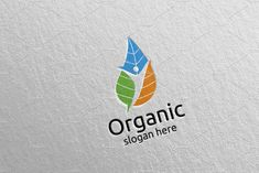 Natural and Organic Logo design 38 by denayunebgt on @creativemarket