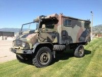 1964 Mercedes Unimog 404 Military Radio Truck Runs and Drives Great 4×4 Monster!