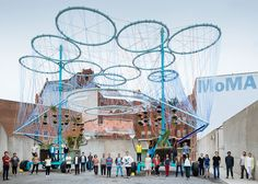 Andrés Jaque creates giant water purifier for MoMA PS1