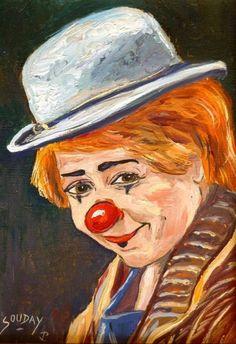peinture de clown célèbre - Recherche Google