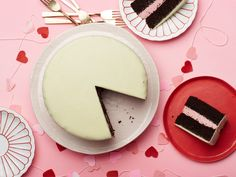 Chocolate Raspberry-Mousse Candy Cake recipe from Food Network Kitchen via Food Network