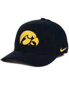 Nike Iowa Hawkeyes Classic Swoosh Cap In Black Nike Swoosh Logo, Crew Shop, Women's World Cup, Iowa Hawkeyes, Mens Caps, Sports Fan Shop, Baby Clothes Shops, Baby Shop, Pumps Heels