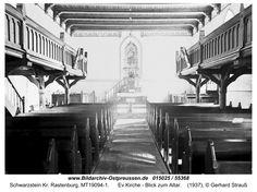 Schwarzstein, Ev.Kirche - Blick zum Altar