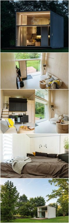 Estonian Design Team Built KODA: A Moveable Concrete Tiny House Kodasema is an Estonian design collective with a passion for minimalistic living and travel. Their combined passion was the force behind their latest product, a prefabricated concrete tiny house that can be set up or broken down for travel in as little as four hours!