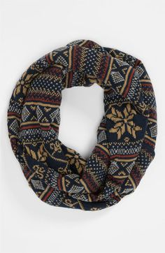 Topman Fair Isle Scarf. Traditional winter print.