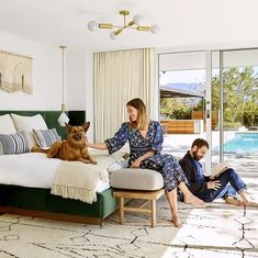 Mandy Moore Takes AD Inside Her Dreamy Home - Architectural Digest Mandy Moore, Architectural Digest, Bohemian Style Home, Bohemian Design, Bohemian Living, Boho Chic, Design Marocain, Celebrity Bedrooms, Moore House