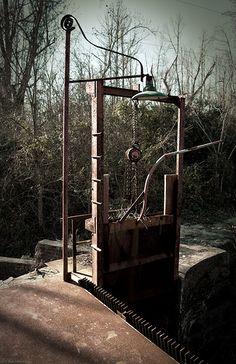 Mill Lock - http://csmartfx.tumblr.com/ #framedprint #walldecor