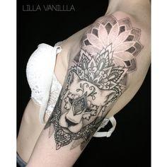 Закончили львицу с Вероникой #tattoo #tattooart #tattoospb #tattooing #tattooink…