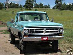 pick ups trucks Classic Ford Trucks, Ford 4x4, Lifted Ford Trucks, 4x4 Trucks, Cool Trucks, Small Trucks, Chevy Trucks, Trailers, Jeep Pickup Truck