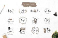 Mient Font + Bonus Illustration by vuuuds on @creativemarket