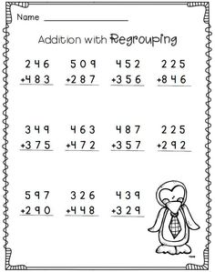 8 Second Grade Math Worksheets Free Templates 3rd Grade Math Worksheets, Free Math Worksheets, School Worksheets, Multiplication Worksheets, Number Worksheets, Printable Worksheets, Grade 2 Maths, Grade 1, 2nd Grade Crafts