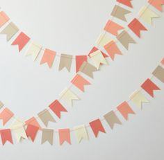 Paper Garland - Triangle Bunting