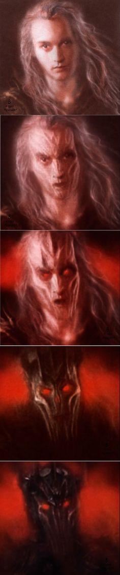 Sauron's evolution