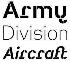 Typeface Heimat Stencil A01 Atlas Font Foundry