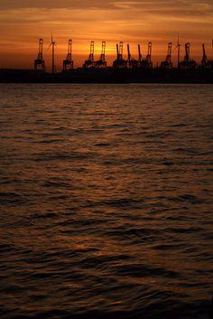 Hamburg - Hafen - Elbe